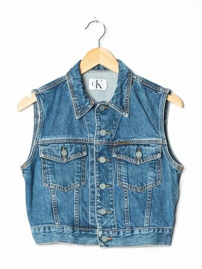 Calvin Klein Jeansweste in XS-S in blue denim, Produktansicht