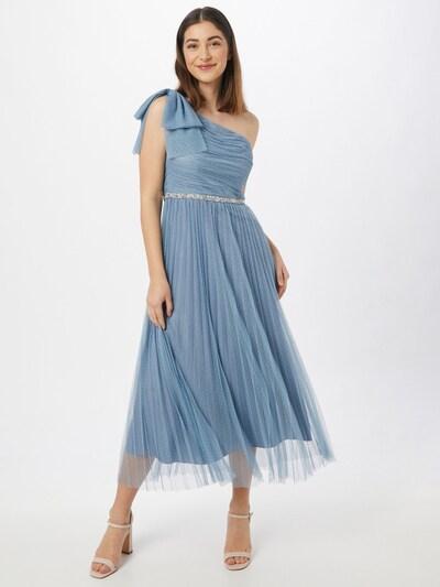 SWING Kokteilové šaty - dymovo modrá, Model/-ka