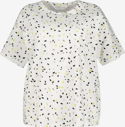 Studio Untold Shirt in de kleur Navy / Geel / Rosé / Wit, Productweergave