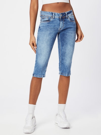 Pepe Jeans Jeans 'SATURN' in blue denim, Modelansicht