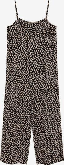 MANGO Jumpsuit 'Paul' in beige / schwarz, Produktansicht