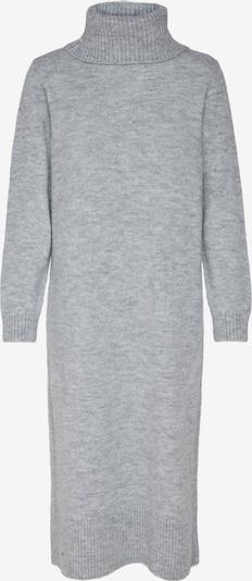 ONLY Gebreide jurk in de kleur Grijs gemêleerd, Productweergave