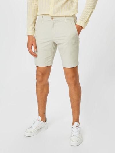 Dockers Pantalon chino en crème, Vue avec modèle