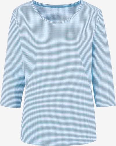 VIVANCE Shirt in hellblau / weiß, Produktansicht