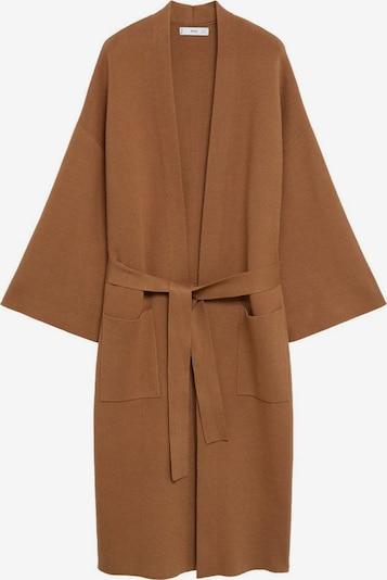 MANGO Pletený kabát 'Sol-A' - hnedá, Produkt