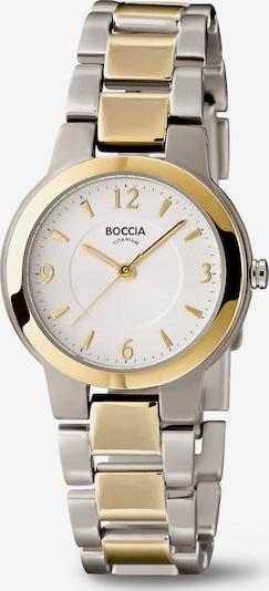 Boccia Titanium Uhr in gold / silber, Produktansicht