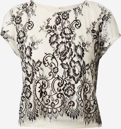 VILA Shirt in beige / schwarz, Produktansicht