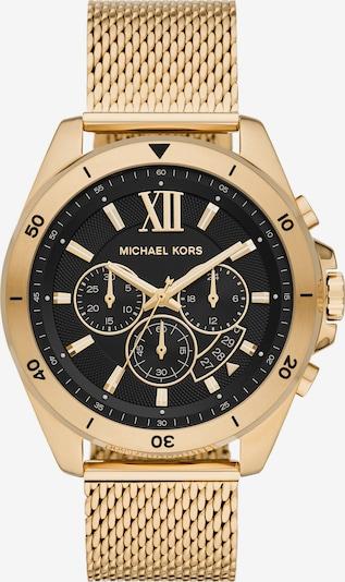 Michael Kors Uhr in gold / schwarz, Produktansicht