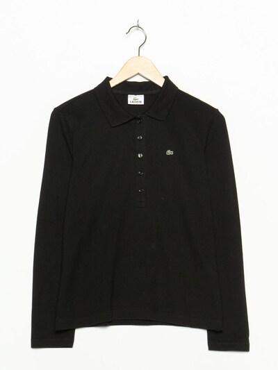 LACOSTE Langarmpolo in M in schwarz, Produktansicht