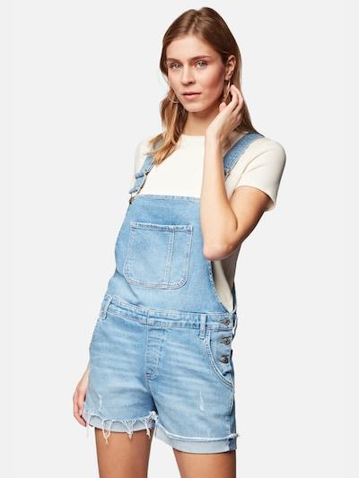 Mavi Latzjeans 'Wanda' in blue denim, Modelansicht