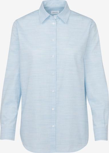 SEIDENSTICKER Hemdbluse in hellblau, Produktansicht