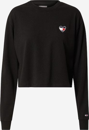 Tommy Jeans Sweatshirt in de kleur Navy / Vuurrood / Zwart / Wit, Productweergave