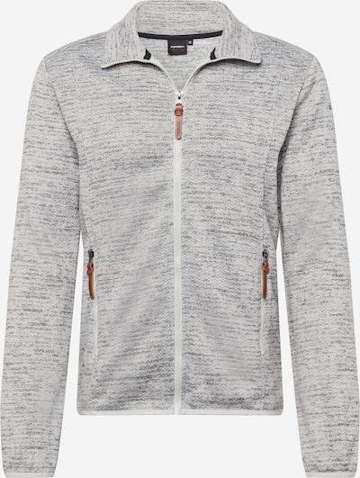 ICEPEAK Sportjacke 'UPTON' in grau / weiß, Produktansicht