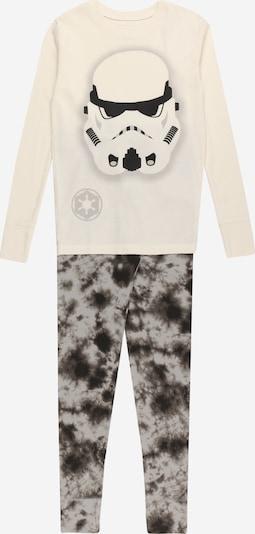 GAP Pijama en gris / negro / offwhite, Vista del producto