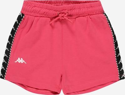 KAPPA Sportshorts in pink / schwarz / weiß, Produktansicht