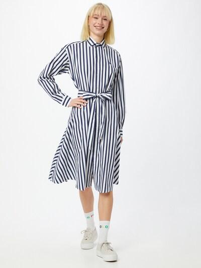 Polo Ralph Lauren Kleid 'ELA' in navy / weiß, Modelansicht