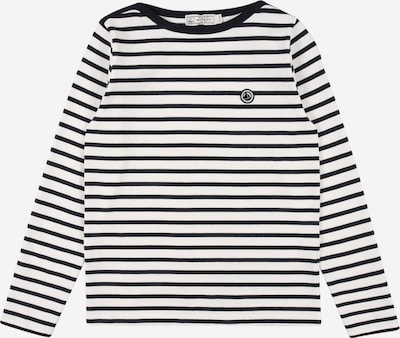 PETIT BATEAU T-Shirt in schwarz / weiß, Produktansicht