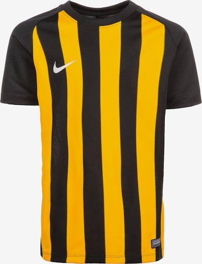 NIKE Functioneel shirt in de kleur Goudgeel / Zwart / Wit, Productweergave
