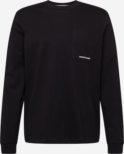 Calvin Klein Jeans Majica u crna / bijela, Pregled proizvoda