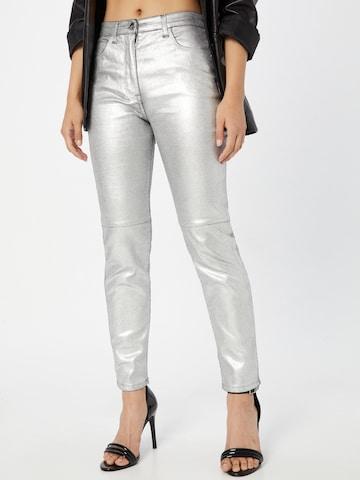 PATRIZIA PEPE Jeans in Zilver