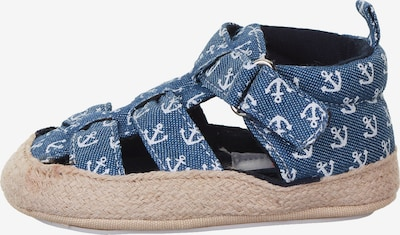 STERNTALER Sandale in blau / weiß, Produktansicht