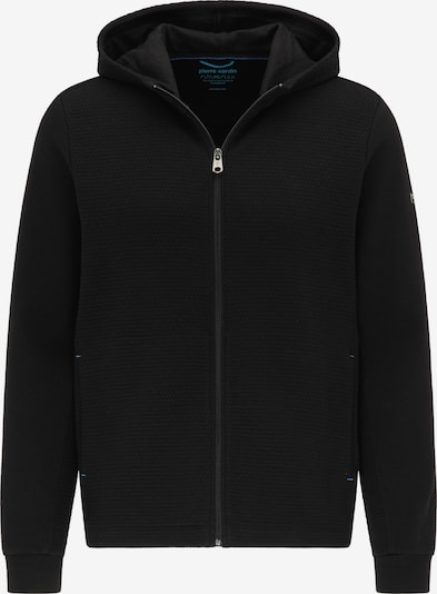 PIERRE CARDIN Sweatvest in de kleur Zwart, Productweergave
