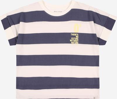 Marc O'Polo Junior Majica u morsko plava / zlatna / bijela, Pregled proizvoda
