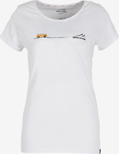 Miracle of Denim T-Shirt in honig / schwarz / weiß, Produktansicht