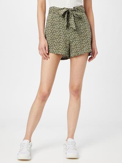 Pantaloni 'STAAR' JDY pe oliv / alb, Vizualizare model
