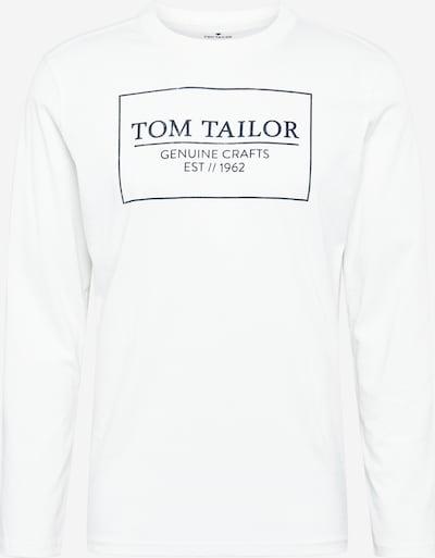 TOM TAILOR Majica u crna / prljavo bijela, Pregled proizvoda