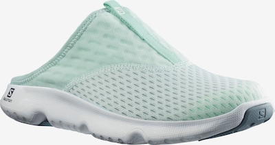 SALOMON Beach & Pool Shoes in Mint: Frontal view