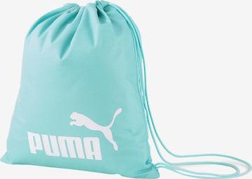 PUMA Athletic Gym Bag 'Phase' in Blue
