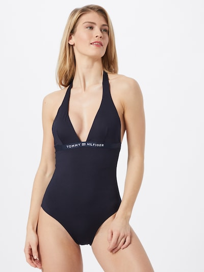 TOMMY HILFIGER Swimsuit in dark blue, View model