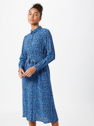 JACQUELINE de YONG Robe-chemise en bleu / noir, Vue avec modèle