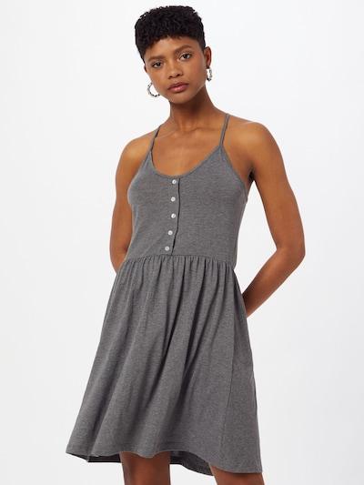 VERO MODA Kleid 'ADA REBECCA' in graumeliert / schwarz, Modelansicht