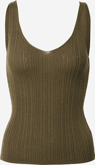 ONLY Knitted top 'Lina' in Grey, Item view