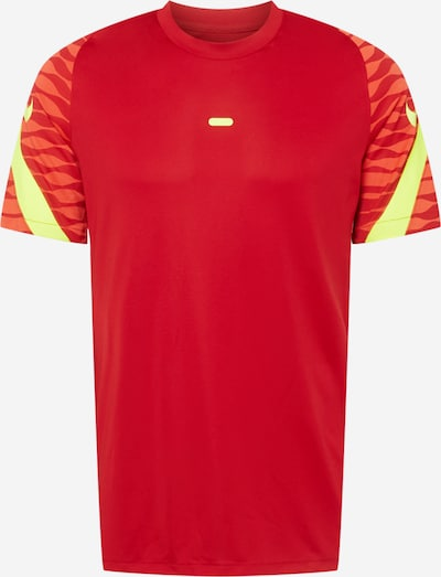 Tricou funcțional NIKE pe galben neon / corai / roșu, Vizualizare produs