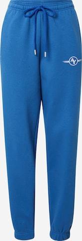 ABOUT YOU Limited Панталон 'Maxi' в синьо