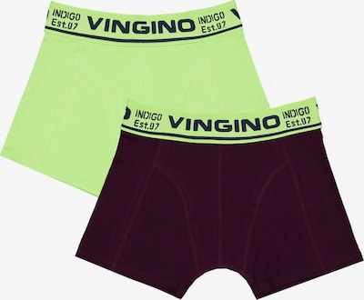 VINGINO Underpants 'FUN' in Kiwi / Wine red, Item view