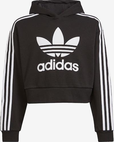 ADIDAS ORIGINALS Sweater majica 'Adicolor' u crna / bijela, Pregled proizvoda