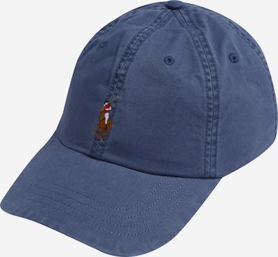 POLO RALPH LAUREN Gorra en azul / marrón / rojo / blanco, Vista del producto