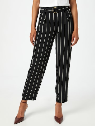 Lauren Ralph Lauren Voltidega püksid, värv must