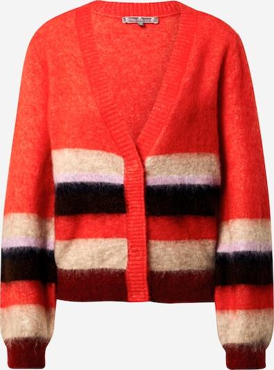LIEBLINGSSTÜCK Gebreid vest 'Gelia' in de kleur Knalrood / Zwart / Wit, Productweergave