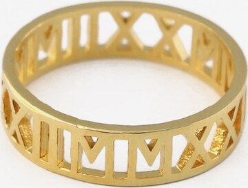 Orelia Ring 'Roman' i gull