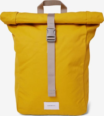 SANDQVIST Batoh 'KAJ' - žlutá, Produkt