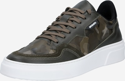 ANTONY MORATO Sneakers low 'RUSTLE' in brown / chestnut brown / light brown / dark green, Item view