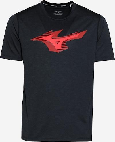 MIZUNO Sportshirt in rot / schwarz, Produktansicht