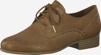 TAMARIS Lace-up shoe in Light brown, Item view