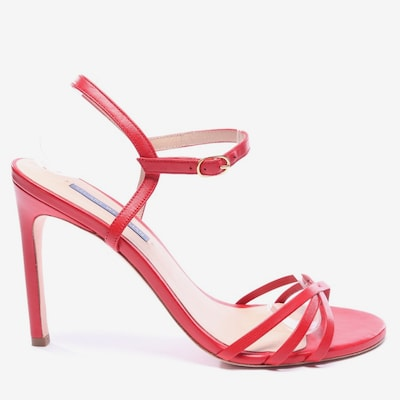 Stuart Weitzman Sandaletten in 39,5 in rot, Produktansicht