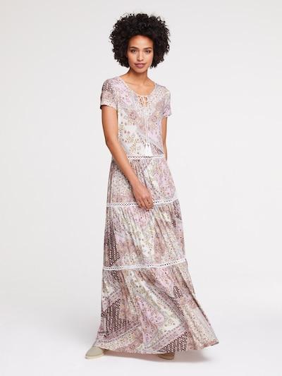 Vasarinė suknelė iš heine , spalva - mišrios spalvos, Modelio vaizdas